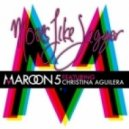 Maroon 5 feat. -  Christina Aguilera - Moves Like Jagger (FM128 remix)