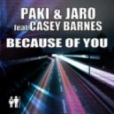 Paki & Jaro ft Casey Barnes - Because Of You (Plusmode Club Mix)