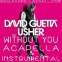 David Guetta Ft. Usher - Without You (DIY Acapella)