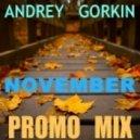DJ Andrey Gorkin - November Promo Mix 2014