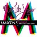 Maroon 5 feat. -  Christina Aguilera - Moves Like Jagger (FM128 remix)