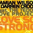 Damian Wilson And Darren Crook Featuring The Teddy Love Project - Love So Strong (DJ Wady   Bruce Banner Ibiza Dub Mix)