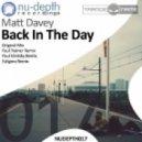 Matt Davey - Back In The Day (Original Mix)