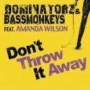 Dominatorz and Bassmonkeys feat. Amanda Wilson - Don\'t Throw It Away (Radio Edit)
