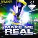 Alex Verano  &  Jim Marlaud - Make Me Real (Cokins Remix)