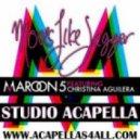 Maroon 5 ft Christina Aguilera - Moves Like Jagger (Acapella)
