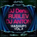 Robbie Rivera vs Toni Cubero - Plucked Sex (Dj DENIS RUBLEV & DJ ANTON MASHUP)