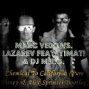 Marc Vedo vs. Lazarev feat. Timati & Dj M.E.G. - Chemical To California (Pure Honey & Alex Sprinter Bootleg)