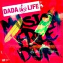 Dada Life - Rolling Stone T-Shirt (Cazzette Approaching Starry Homes Mix)