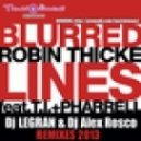 Robin Thicke feat. T.I. & Pharrell Williams - Bluerred Lines